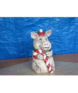 #0825 Snow Piggy Medium Statue - $25.00