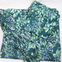 Laura Ashley Bramble Floral Green 40 x 84 Door Panel with Ties (Set of 2) - $74.00