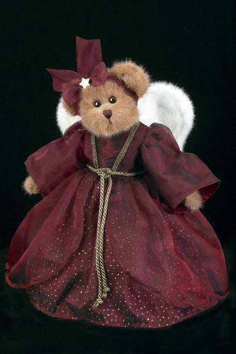 "Bearington Bears ""Gloria"" 14"" Collector Angel Bear- Sku#1481N- New- 2004"
