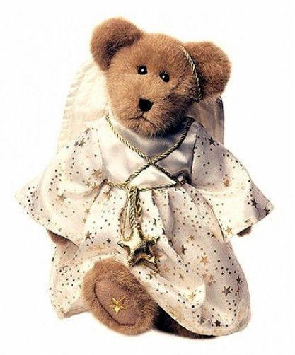"Boyds Bears ""Ariana Angelwish""  #904041  14"" Plush Angel Bear-NWT-2002- Retired"