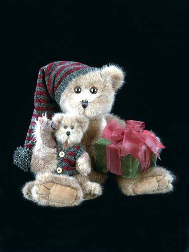 "Bearington Bears ""All I Want For Christmas"" 14"" Collector Bear-Sku#1346-NWT-2003"