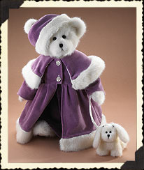 "Boyds Bears ""Victoria Crystalfrost w/Fifi""- 16"" Plush Bear- 919842-NWT-Retired"