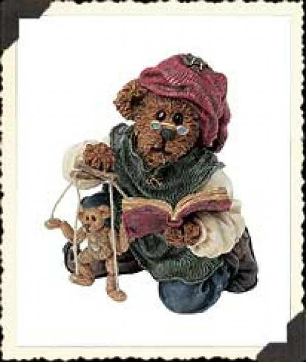"""Boyds Bearstone """"ISAAC, CHISELY And WOODY.. MAKIN' FRIENDS """"#228390-3E-NIB-2002"""