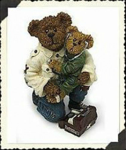 "Boyds Bearstone """"E.M.T. Bearsley with Carey... To the Rescue* #228416* 1E* NIB"
