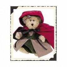 "Boyds Bears ""Bailey"" 8"" Lil Red Riding Hood Bear #9119-15- NWT- 2000- Retired image 1"