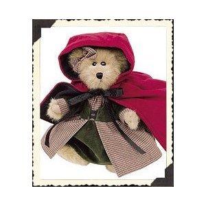 "Boyds Bears ""Bailey"" 8"" Lil Red Riding Hood Bear #9119-15- NWT- 2000- Retired image 2"