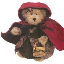 "Boyds Bears ""Bailey"" 8"" Lil Red Riding Hood Bear #9119-15- NWT- 2000- Retired image 3"