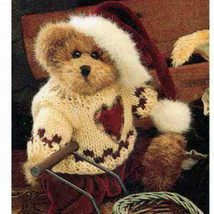 "Boyds Bear ""Edmund"" #9175-10  - 8"" plush bear- NWT- 1998-  Retired image 1"