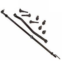 9 PC Kit Jeep Wrangler 91-95 Drag Link Track Bar Tie Rod Upper Lower Ball Joint - $170.15