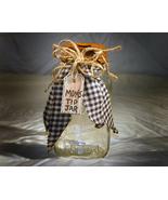 Mom's Tip Jar with Rusty Tin Lid - $6.95