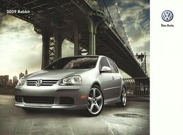 2009 Volkswagen RABBIT sales brochure catalog US 09 VW Golf S - $8.00
