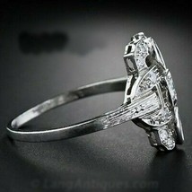 Antique Round And Marquise Cut Diamond Engagement Ring Art Deco Diamond ... - $113.85