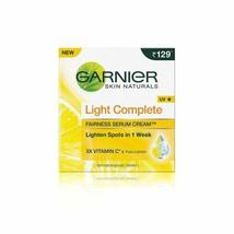 Garnier Skin Naturals Light Complete Serum Cream, 45g Free Shipping - $7.91