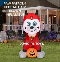 PAW PATROL 4 FT. 2 IN. AIRBLOWN INFLATABLE HALLOWEEN MARSHALL NEW 2021 - $56.99
