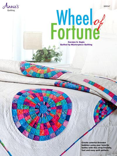 Wheel of Fortune Dresdon Bubbles Batik Quilting Pattern Instructions Leaflet NEW