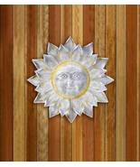 10017912 SHIPS FREE Accent Plus Round Silver Sun Wall Art - $56.90
