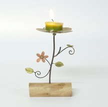Brass metal votive acent cadles holder vintage tealight weeding partylit... - $27.72