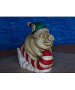 #0830 Piggy Sleigh Ride Statue - $25.00