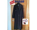 Italian classic margon design green long coat wool thumb155 crop