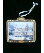 Hallmark Thomas Kinkade Victorian Christmas III Ornament, No Box - $4.99