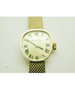 2020 Mathey Tissot Designer Solid 14k Yellow Gold 17 Jewel Lady Wind Wri... - $1,395.00