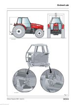 Massey Ferguson MF 5470 5460-SA 5470-SA 5475-SA  Tractors Shop Service Manual CD image 8