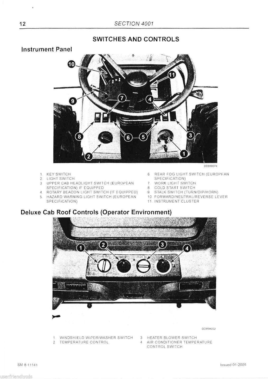 McCormick MTX MTX135 MTX140 MTX150 Tractor Service & Operator Manual -4- MANUALS image 6