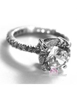 Beauty for Ashes® Classic 925 Sterling Silver Royal Engagement Cubic Zir... - $85.00