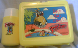 1987 Thermos Brand Who Framed Roger Rabbit Lunch Box w/Thermos Don't Mak... - $24.99