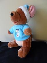 "Roo Winnie the Pooh  Plush Stuffed Animal Christmas Holiday Snowman Winter 11"" T image 2"