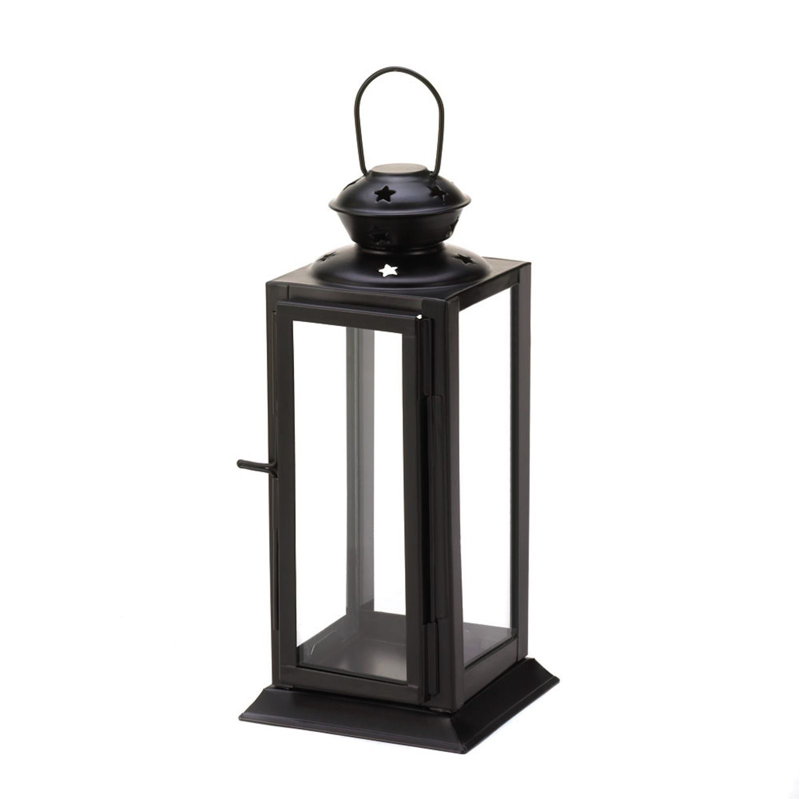30 BLACK Lantern Candle Holder WEDDING Centerpieces image 2