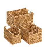 Storage Basket Nesting Baskets - Lot Of 3 Great Gift Set - New - $35.74