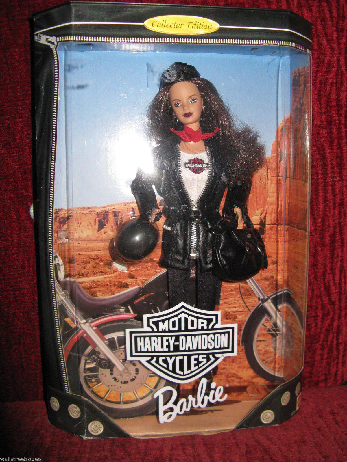 1998 Harley Davidson #3 biker motorcycle Barbie NRFB