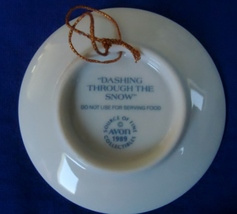 Avon Dashing Through the Snow Ornament  image 2