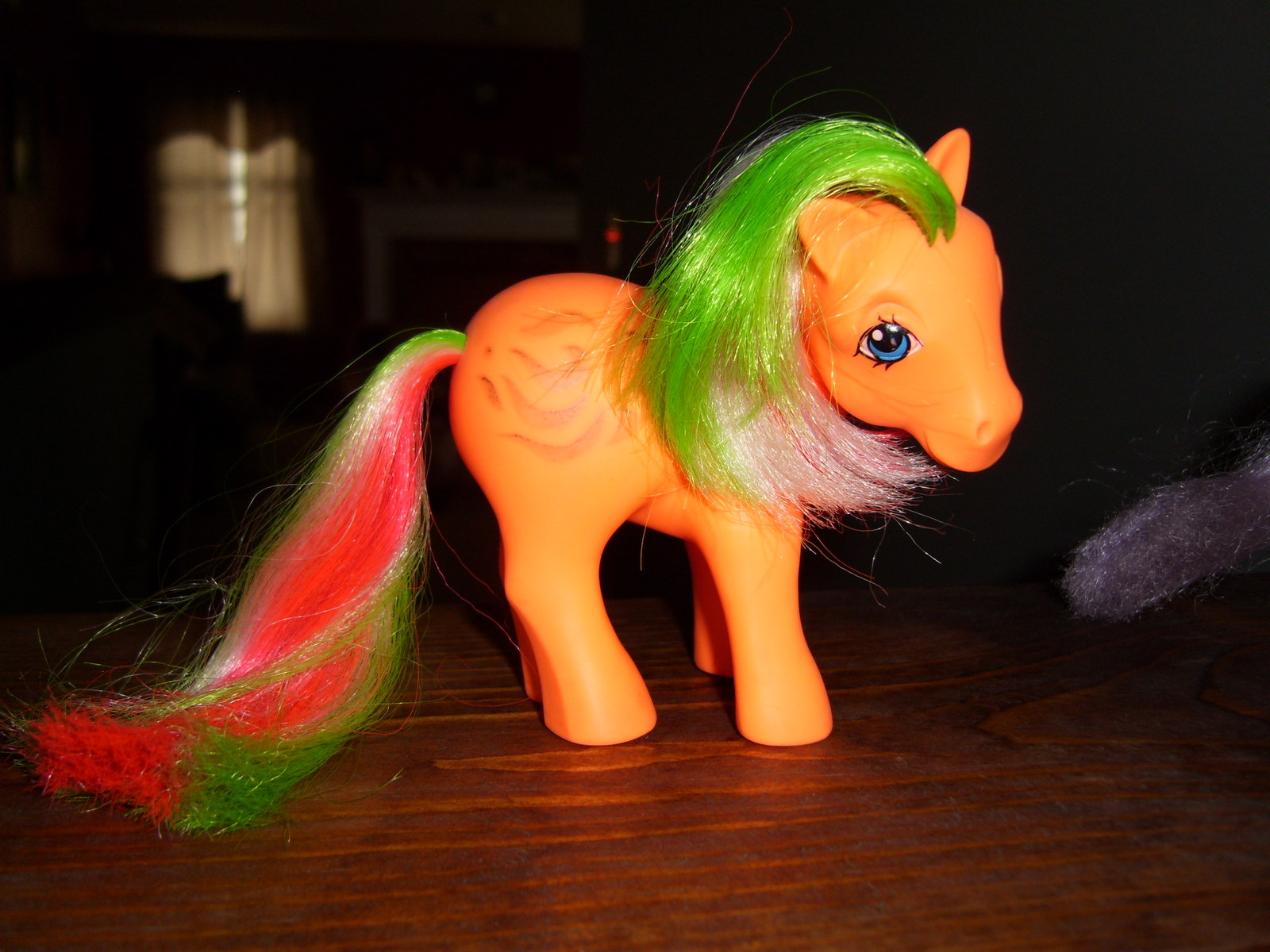 My Little Pony G1 Argie Windy (green hair)
