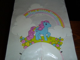 My Little Pony G1 Merchandise MIP Bowtie table decoration image 3