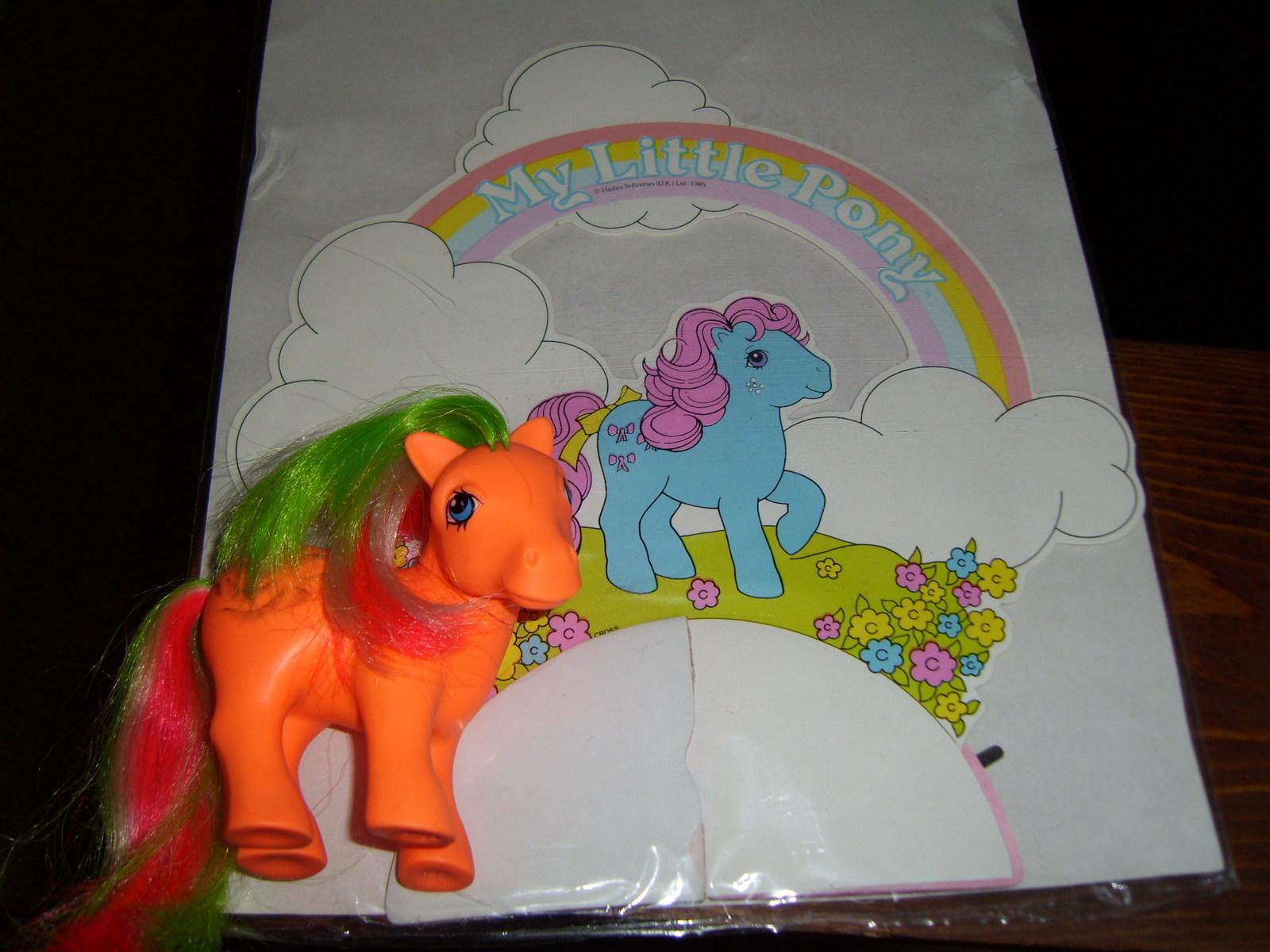 My Little Pony G1 Merchandise MIP Bowtie table decoration image 4