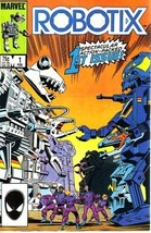 Robotix, Vol 1 #1 (Comic Book): A World in Choa... - $7.99