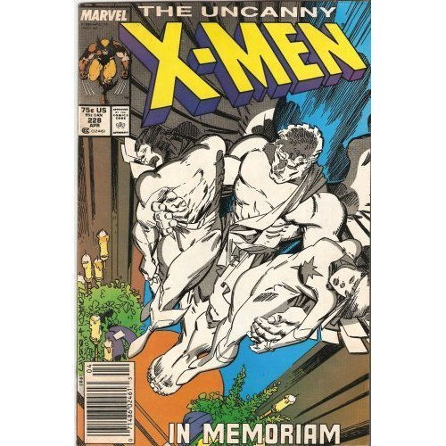 The Uncanny X-Men #228 : Deadly Games (Marvel Comics) (Deadly Games) [Comic] ...