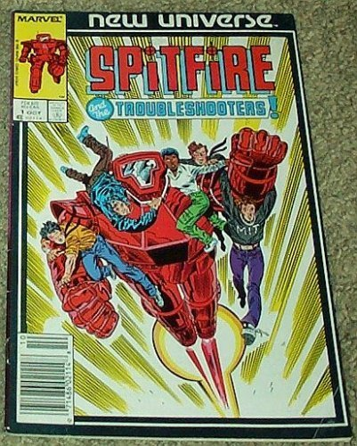 Spitfire and the Troubleshooters! No 1 Oct 1986 (Volume 1) [Comic] by Gary Co...