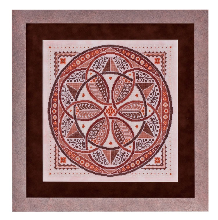 Tiramisu A-Maze-ing Desserts Collection cross stitch chart Glendon Place   image 1