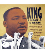 "Steve Kaufman ""Martin Luther King Jr: I Have a Dream"" - S/N Silkscreen/C... - $800.00"