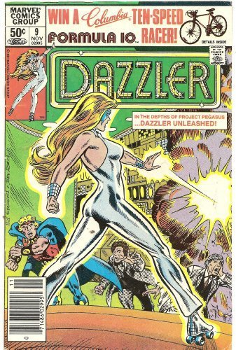 Dazzler, No. 9: The Sound and the Fury! [Comic] by Danny Fingeroth; Frank Spr...