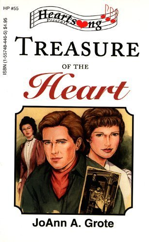 Treasure of the Heart (Minnesota Mysteries Series #3) (Heartsong Presents #55)