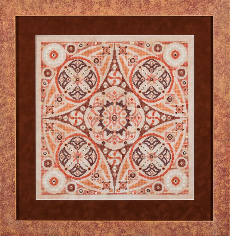 Pumpkin Swirl A-Maze-ing Desserts Collection cross stitch chart Glendon Place