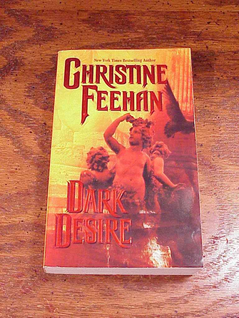 Dark Desire Carpathian Series Paperback Book by Christine Feehan, no. 2, PB