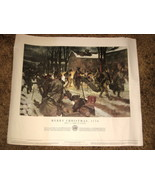 1953 U.S.Army Poster21-37-- Merry Christmas 1776 - $10.00