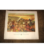 1953 U.S.Army Poster21-48-- Knocking Out The Moros - $10.00