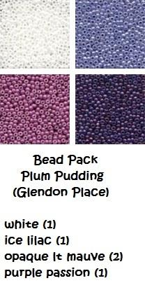 Plum Pudding A-Maze-ing Dessert Collection  cross stitch chart Glendon Place   image 4