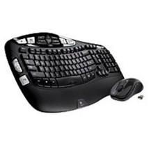 Logitech 920-002555 MK550 2.4 GHz Wireless Keyboard, Mouse - Laser - USB... - $68.30